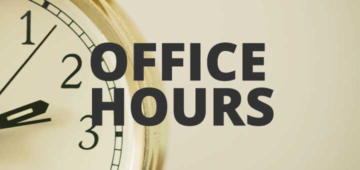 Evening Office Hours