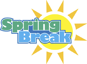 Image result for pictures of the word spring break!